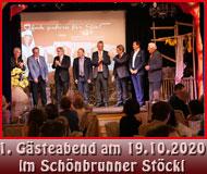 1. Gästeabend im Schönbrunner Stöckl