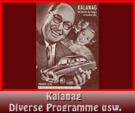 Kalanag diverse Programme