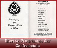 Diverse Programme der VMKW