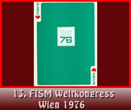 13. FISM Weltkongress Wien 1976